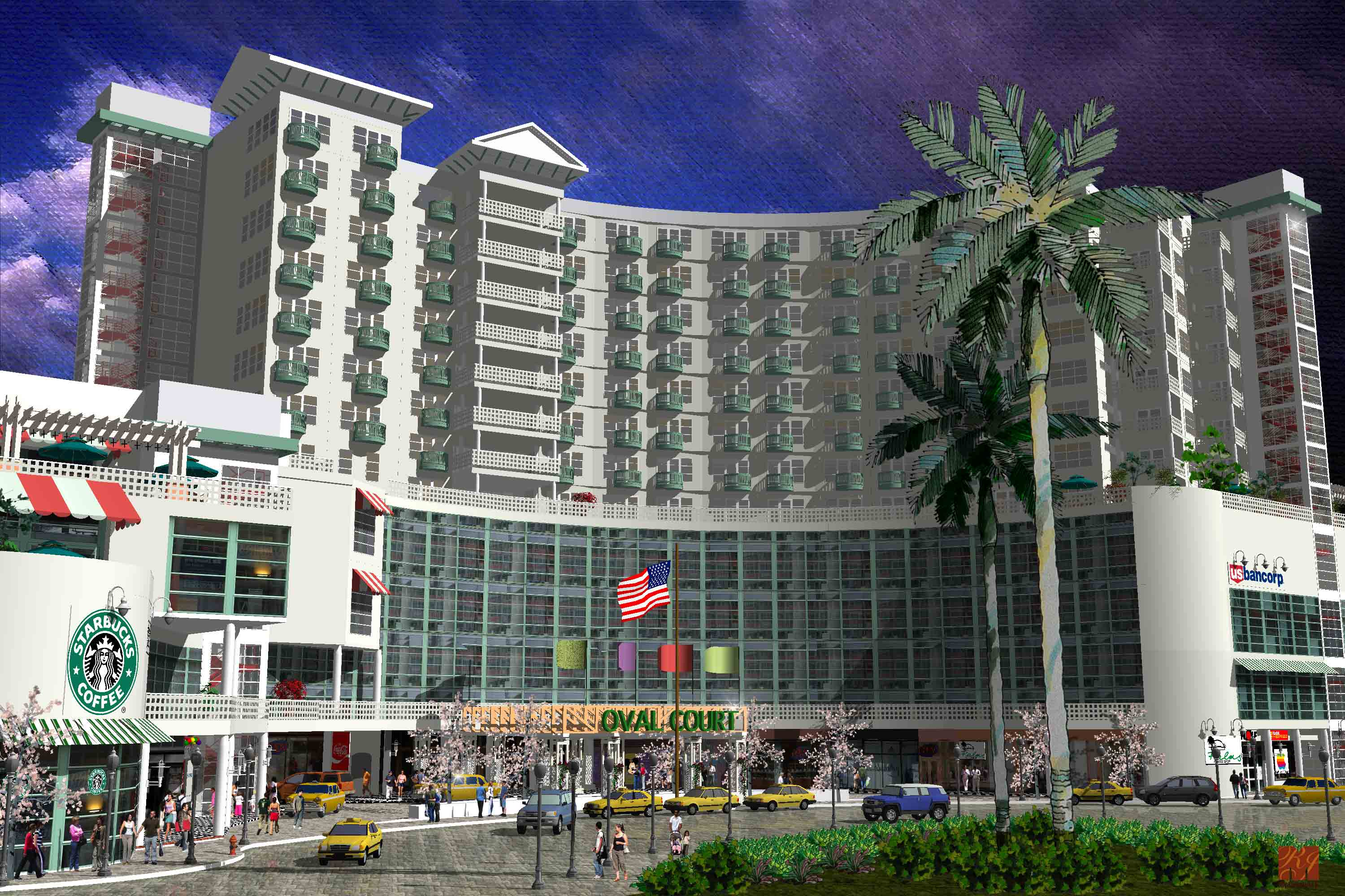 Oval Court Hotel Fort Myers Fl